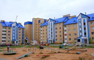 Многоквартирный жилой дом по ул.Молодежной